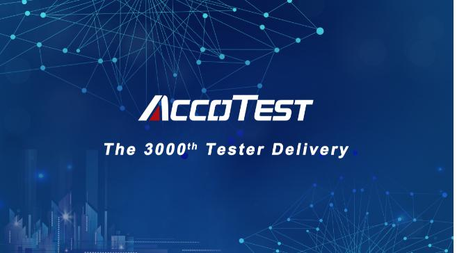 AccoTEST the 3000th Tester Delivery